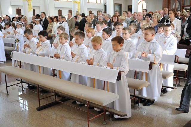 W niektórych diecezjach regionu łódzkiego do komunii przystąpią dzieci z klas trzecich