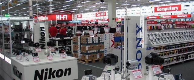 Media Markt będzie największym w Przemyślu sklepem oferujący artykuły rtv, agd, komputery.