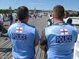 Brytyjscy policjanci w Polsce pilnują bezpieczeństwa przed meczem Anglia Belgia na Mistrzostwach Świata w Rosji