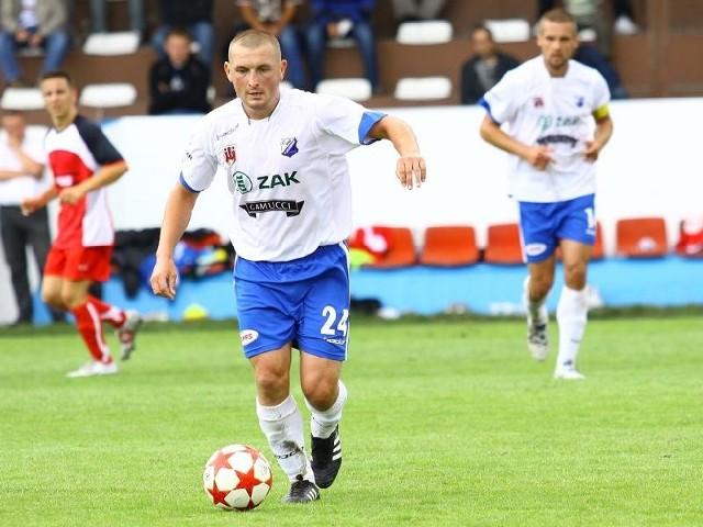 Krzysztof Ulatowski, pomocnik MKS-u Kluczbork