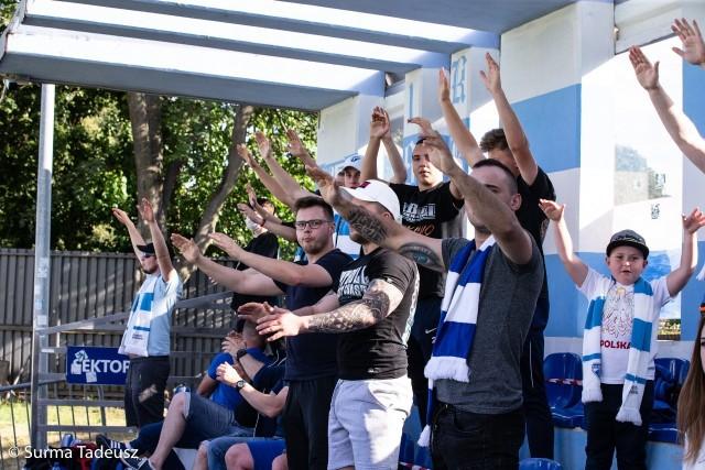 Błękitni Stargard - Stal Rzeszów 0:1.