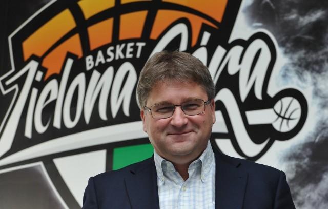 Janusz Jasiński, właściciel Zastalu Enei BC Zielona Góra: Marzy nam się, że za jakiś czas spotkamy się podczas meczu w hali CRS, a na trybunach zasiądzie 3000 akcjonariuszy