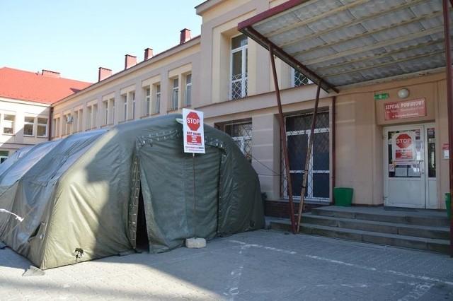 Szpital Powiatowy w Skarżysku-Kamiennej wszczął dodatkowe środki ostrożności.
