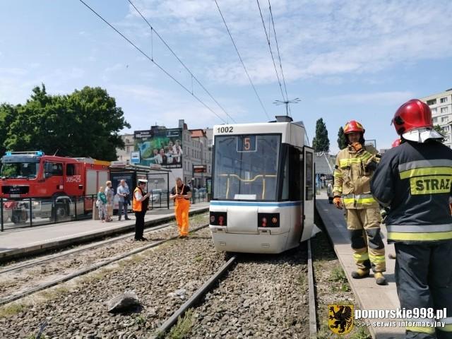 Wykolejenie tramwaju w Gdańsku, 20.06.2020