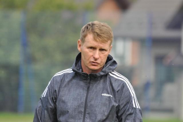 Trener Robert Nowak