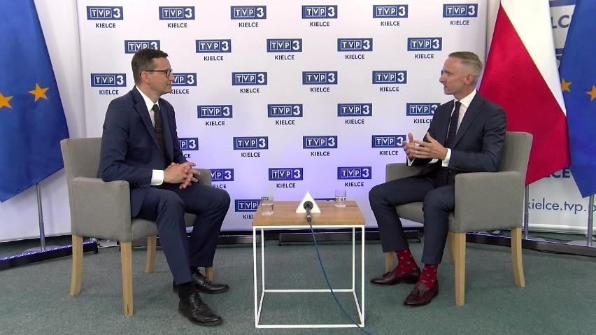GOŚĆ DNIA. Premier Mateusz Morawiecki o inwestycjach w Świętokrzyskiem