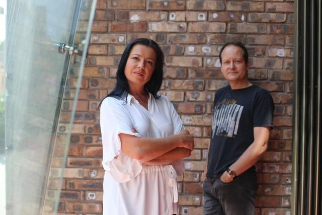 Aleksandra Gajewska i Jacek Bończyk, dyrektorzy Teatru Rozrywki w Chorzowie
