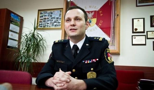 Krzysztof Kolenda, komendant Straży Miejskiej w Białymstoku
