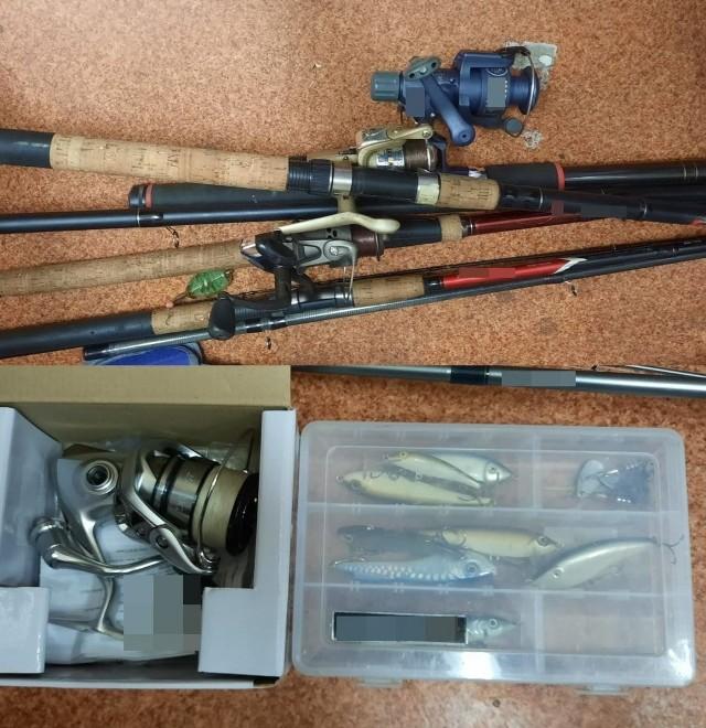 Zatrzymany przez policjantów z Namysłowa mężczyzna kradł elektronarzędzia i sprzęt wędkarski.
