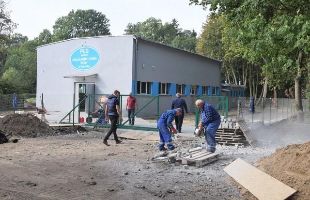 Stacja uzdatniania wody w Kościelcu po kapitalnym remoncie