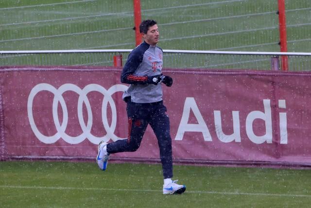 Lewandowski wraca do zdrowia po kontuzji kolana