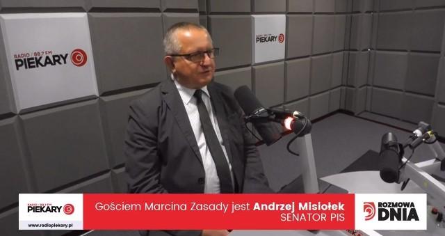 Andrzej Misiołek, gość Dziennika Zachodniego i Radia Piekary
