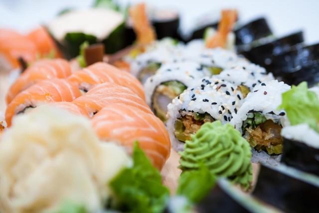 Sushi jest najczęściej wybieraną potrawą przez mieszkańców Warszawy, szczególnie na Ursynowie i Wilanowie.