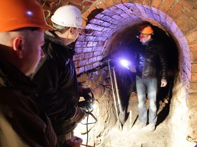 Odkryto nieznane wejście do XIX-wiecznego tunelu w okolicach ul. Kilińskiego