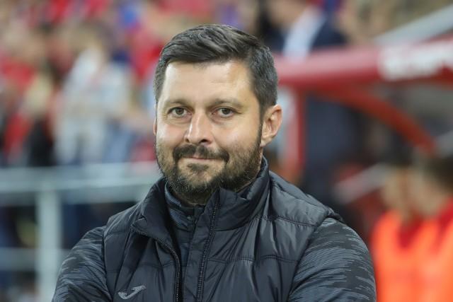 Trener Marcin Kaczmarek myśli już o przyszłości
