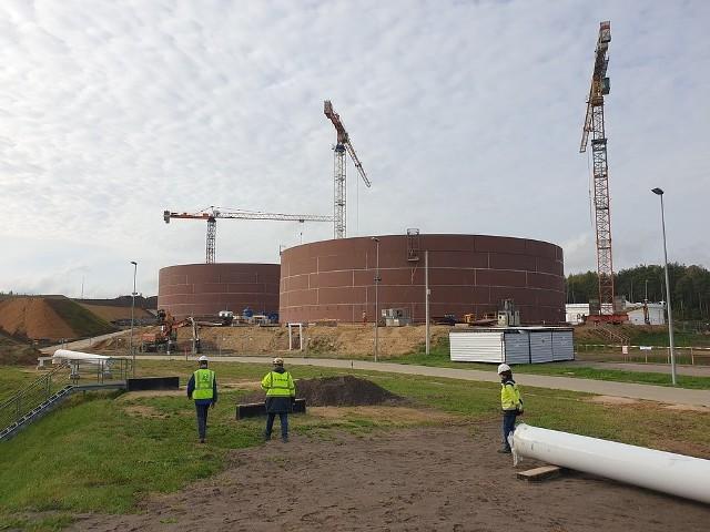 Na wiosnę tego roku zakończył się drugi etap rozbudowy magazynów PERN, m.in. w Dębogórzu.