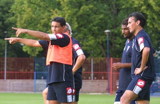 Od lewej: Julcimar, Rodrigo i Urugwajczyk Claudio Milar.