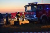 Katastrofa helikoptera na Dolnym Śląsku. Śmigłowiec rozbił się pod Strzegomiem. Nie żyją dwie osoby