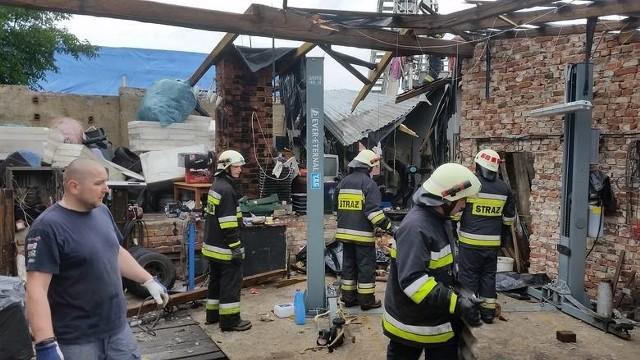 11 lipca nawałnica uszkodziła kilkadziesiąt domów.