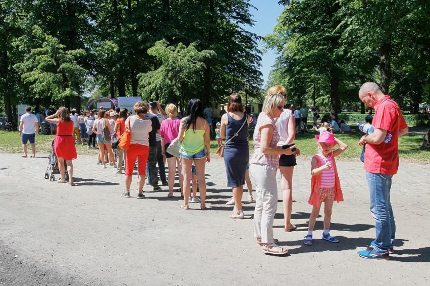 Dzieci świętowały na Partynicach