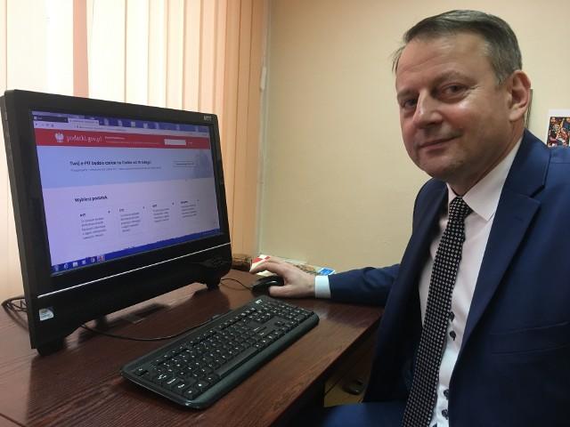 Jerzy Kwiatkowski - szef ostrołęckiej skarbówki