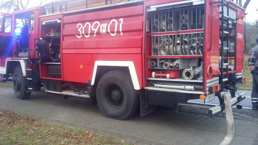 W Motylewie dwie osoby zmarły w wyniku pożaru. Starsze...
