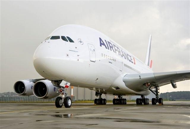 Tak wygląda największy pasażerski samolot świata w barwach linii Air France
