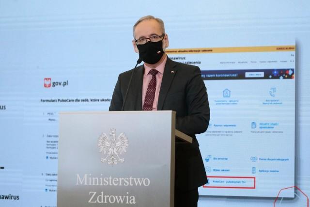 Adam Niedzielski, minister zdrowia.