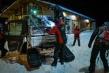 Szalona sobota ratowników TOPR i GOPR. Dwie lawiny w Tatrach, zagubione grupy turystów na Przełęczy Kondrackiej i Babiej Górze
