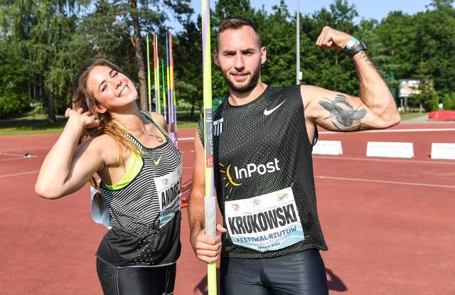 Maria Andrejczyk i Marcin Krukowski okazali się najlepsi wśród oszczepników