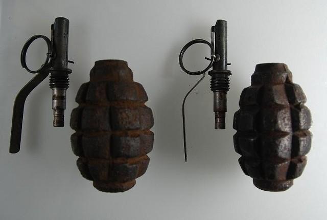 Dwa granaty znaleziono w przesyłce na lotnisku Ławica