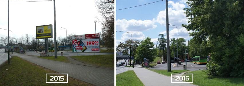 Poznań nie chce bilbordozy. Miasto usunęło ponad 100 brzydkich reklam