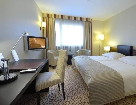 Tak wyglądają pokoje dla gości w kieleckim hotelu Qubus.