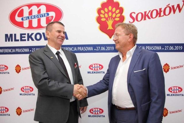 Konferencja prasowa Grupy MLEKOVITA i Sokołów S.A.