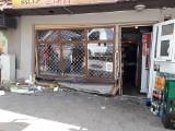 Nietrzeźwa kobieta wjechała samochodem w witrynę sklepu w Wałczu. Zabrała butelkę alkoholu
