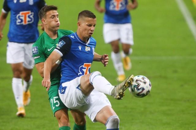 Lubomir Satka to w tej chwili najbardziej zapracowany piłkarz Lecha Poznań