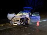 Wypadek pod Kobierzycami. Trzy osoby ranne