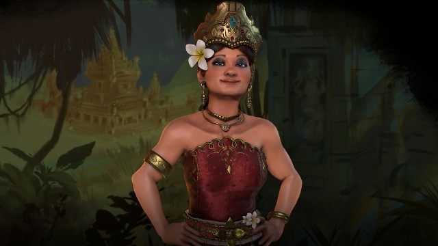 Sid Meier's Civilization VINa czele Indonezji w grze Sid Meier's Civilization VI stanie Gitardża