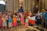 Muszelki z Więcławic Starych koncertowały w Santiago u św. Jakuba