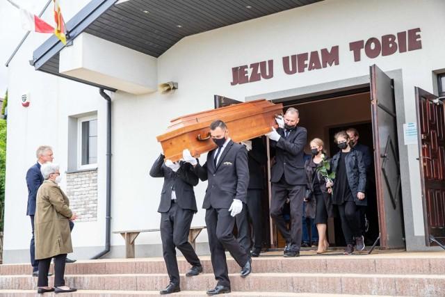 Pogrzeb Zdzisława Lenkiewicza
