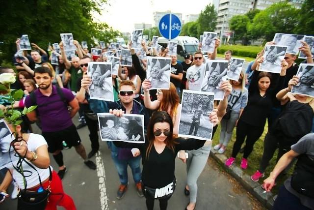 Marsz pamięci Igora Stachowiaka w 2016 r.