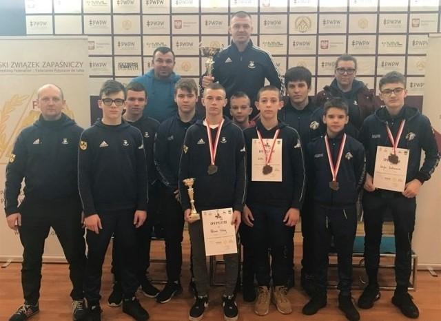 Dwa medale w Pucharze Polski kobiet oraz cztery w Pucharze Polski kadetów - oto najnowszy dorobek przedstawicieli Orła Namysłów.
