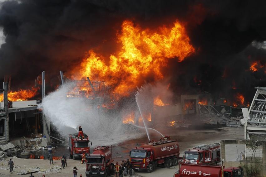 Liban: Potężny pożar w Bejrucie. Nie wiadomo co się pali. Przed miesiącem miasto doświadczyło potwornej eksplozji (VIDEO)