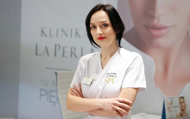 Joanna Cisoń, kosmetolog  z Kliniki La Perla w Rzeszowie