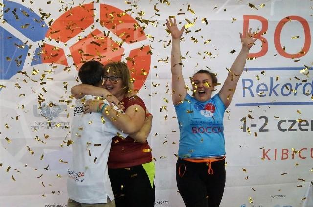 Bicie rekordu świata w najdłuższym maratonie gry w boccia - Uniwersytet Zielonogórski 2019