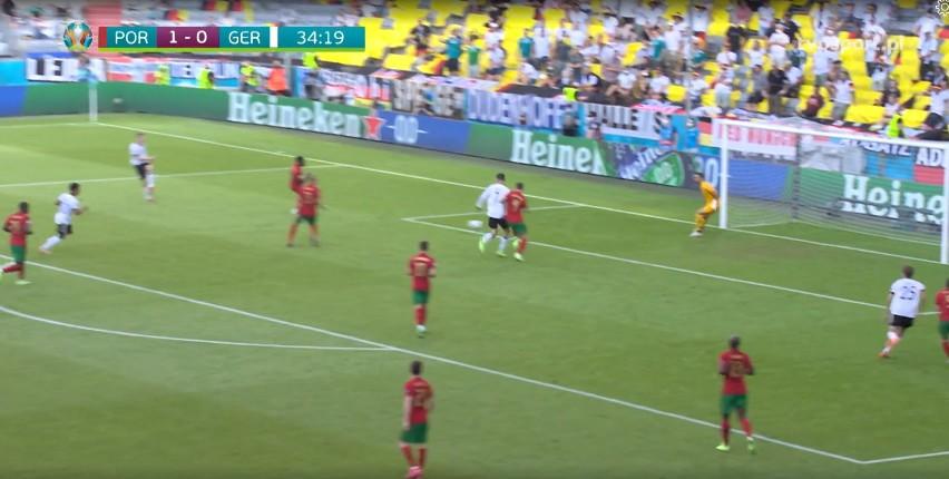 Euro 2020. Skrót meczu Portugalia - Niemcy 2:4 [WIDEO] Festiwal bramek samobójczych