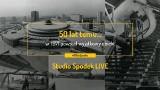 Studio Spodek będzie nadawało  8 maja. O słynnej hali będą rozmawiali sportowcy i architekci. Prócz tego archiwalne zdjęcia i filmy