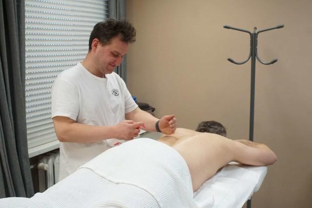 Fundacja Tyflologika oferuje między innymi usługi masażu.