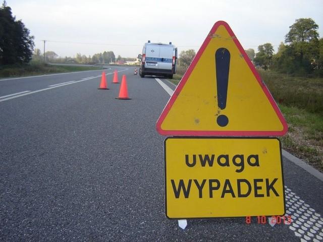Wypadek na DK 86 w Podwarpiu. Droga już przejezdna