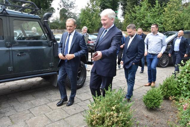 Donald Tusk  z wizytą w Nakle nad Notecią